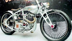 Honda Tiger Revo 2008, aluminium boardtracker