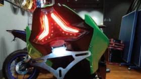 Aplikasi Stoplamp 3 in 1 di New Kawasaki Ninja 250