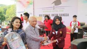 Beasiswa KAI untuk cerdaskan anak bangsa