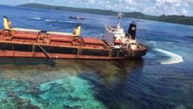 Tumpahan minyak MV Solomon Trader, kelestarian habitat laut terancam