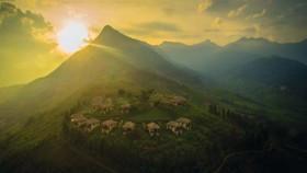 Topas Ecolodge khayangan nyata di dunia