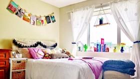 Makeover kamar anak gaya bohema