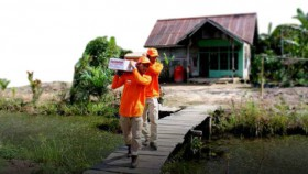 Bahagia warga desa sungai terus Pontianak dengan Superqurban