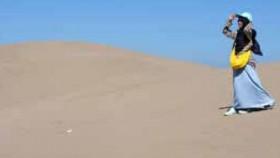 Jalan-jalan ke gurun pasir di Indonesia Timur