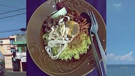 Nasi kuning khas Lombok