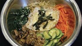 Nasi campur khas Korea