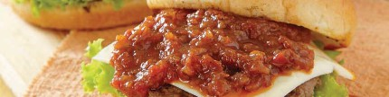 Burger, roti isi daging