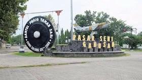 Bantul, daerah istimewa Yogyakarta, gudeg manggar dan sambal belutnya bikin keta