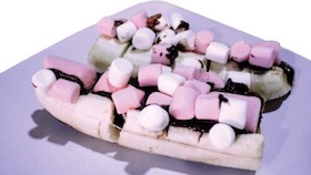 Pisang choco marshmallow, legitnya pisang & kenyalnya marshmallow