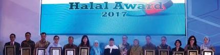 Aice raih halal award