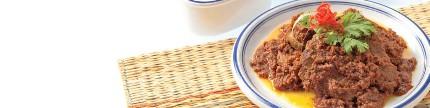 Variasi hidangan dengan rendang