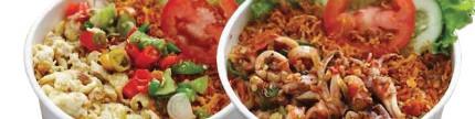 Prilly Latuconsina & Nona Judes, andalkan ayam goreng & varian sambal