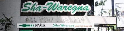 Sha-Waregna, santap jajanan khas Bandung ala resto