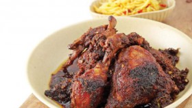 Ayam bumbu madura & variasi sajian