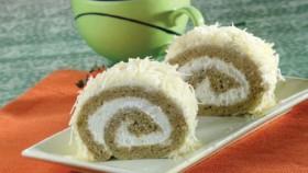 Cake kukus targulung sempurna