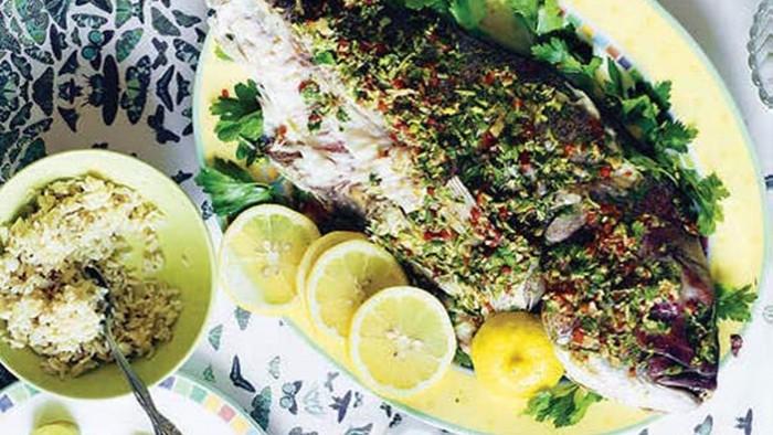 Mengenal Samke Harra Sajian Ikan Pedas Ala Libanon Edisi 7 2017 Sedap