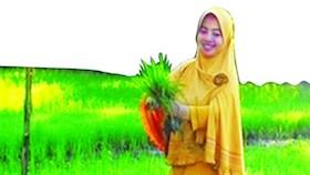 Erly Nurwahmiaty, penyuluh teladan NTB, penyuluh, terus belajar dan dekat petani