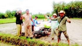 Pelatihan petani dan penyedia alsintan