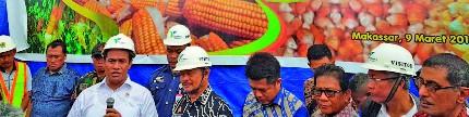 Ekspor jagung, catatan sejarah baru bangsa Indonesia