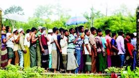 Maksimalkan bantuan untuk pengungsi Rohingya