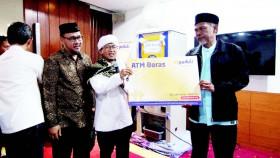 ATM beras, inovasi sosial untuk mustahik
