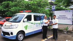 Perkuat sinergi dengan ambulans untuk warga Lombok