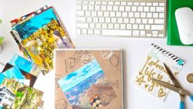 Tambah kesan dengan travel scrapbook
