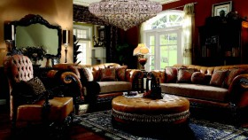 Homey family room