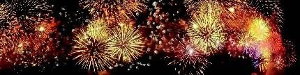 Keseruan tahun baru di beragai negara