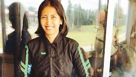 Naila Novaranti, melatih terjun payung tentara puluhan negara
