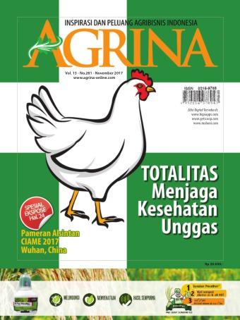 Majalah Agrina - edisi 281