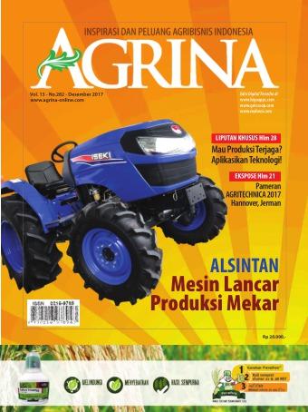 Majalah Agrina - edisi 282