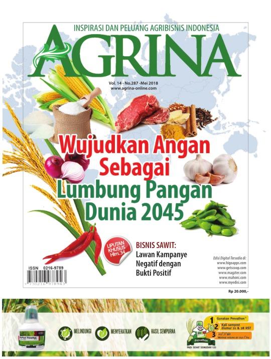 Majalah Agrina - edisi 287