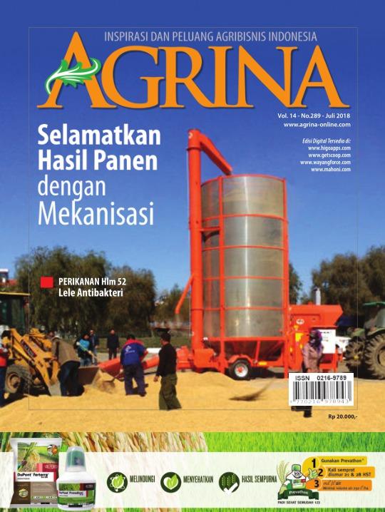 Majalah Agrina - edisi 289