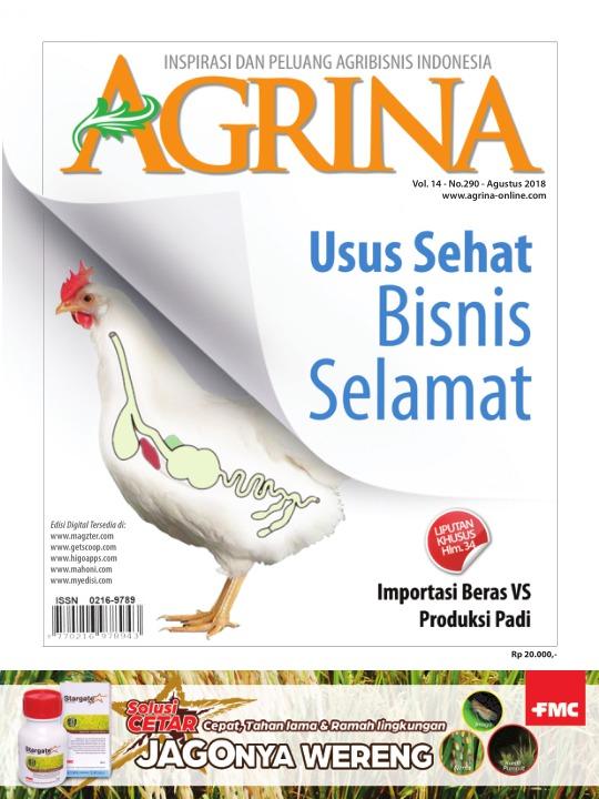 Majalah Agrina - edisi 290