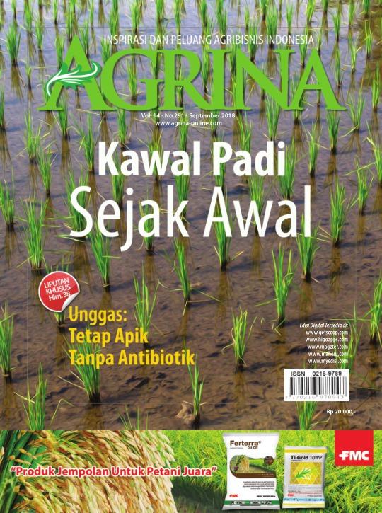 Majalah Agrina - edisi 291