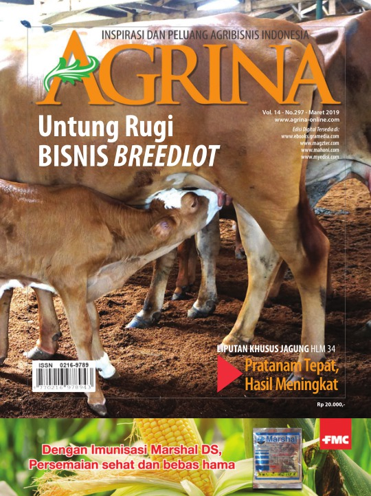 Majalah Agrina - edisi 297
