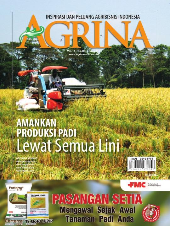 Majalah Agrina - edisi 300
