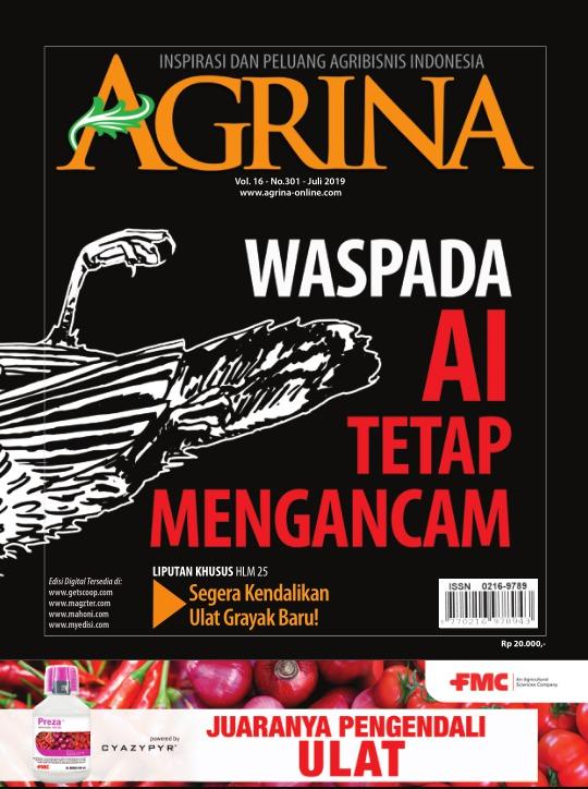 Majalah Agrina - edisi 301