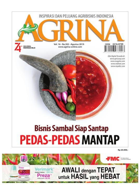 Majalah Agrina - edisi 302