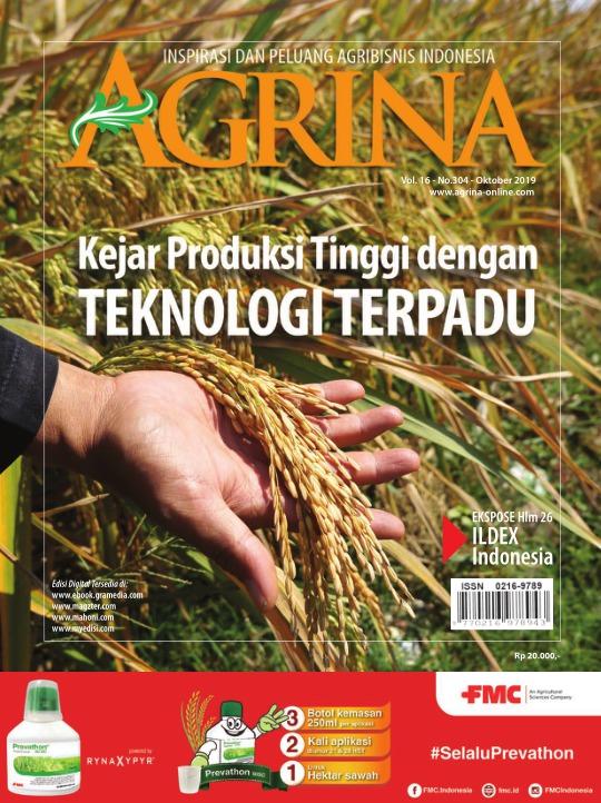 Majalah Agrina - edisi 304