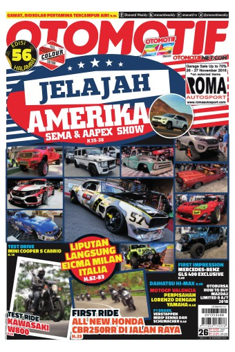 Tabloid OTOMOTIF - edisi 26/XXVI