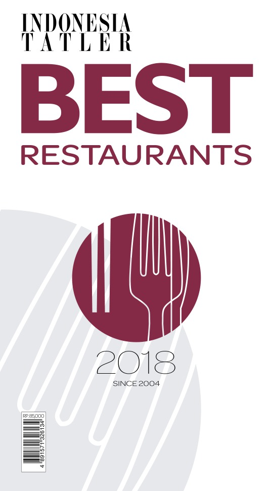 Majalah Indonesia Tatler Best Restaurant Guide - edisi 2018