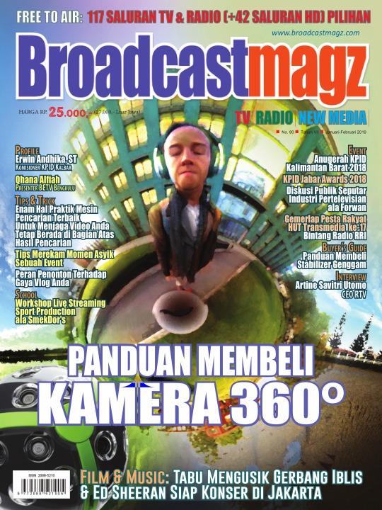 Majalah Broadcastmagz - edisi 80