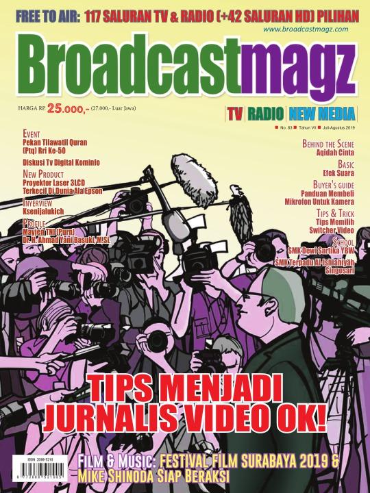 Majalah Broadcastmagz - edisi 83