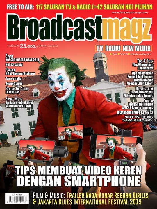 Majalah Broadcastmagz - edisi 84