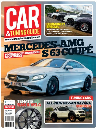 Majalah Car & Tuning Guide - edisi 554