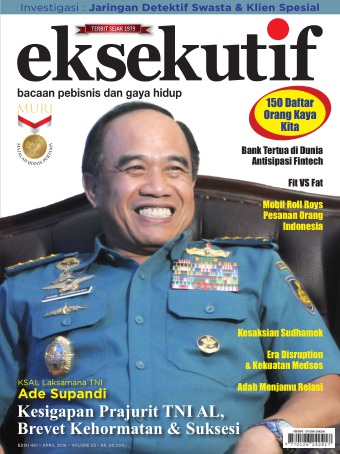 Majalah Eksekutif - edisi 461