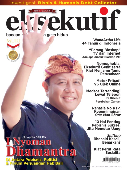 Majalah Eksekutif - edisi 464