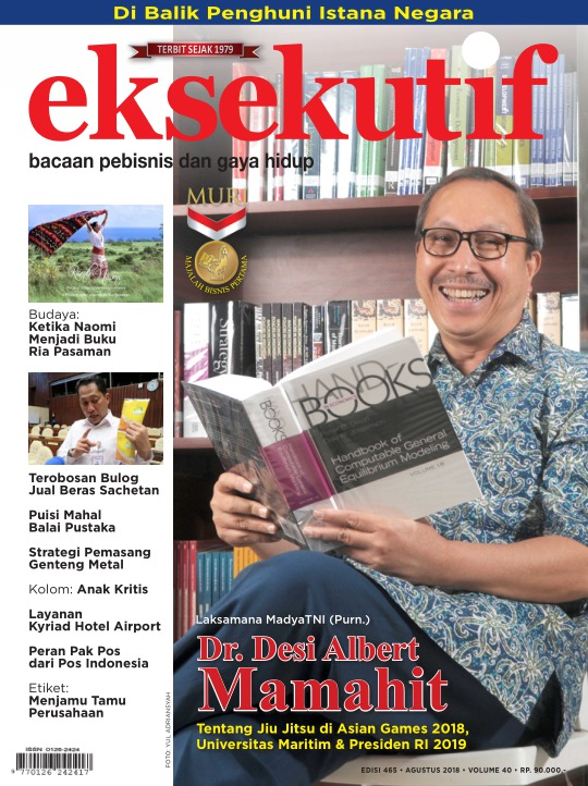 Majalah Eksekutif - edisi 465